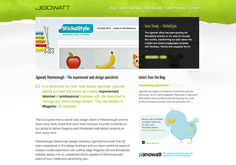 A great web design by Jigowatt, London, United Kingdom: