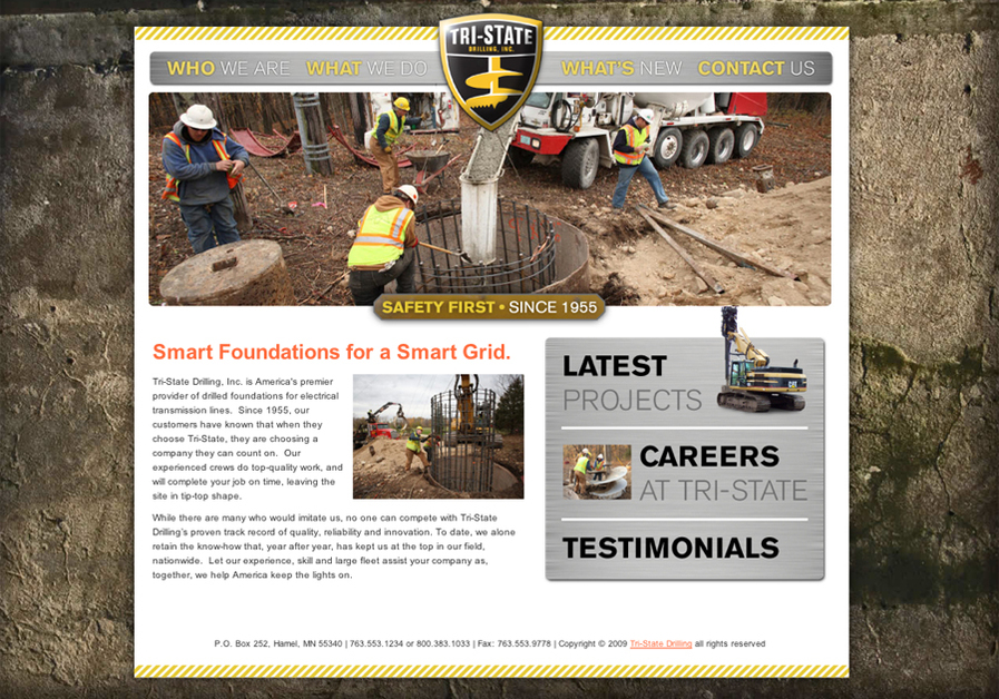 A great web design by malley norman, Minneapolis, MN: