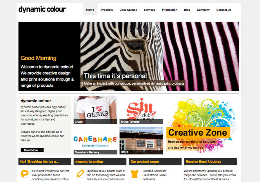A great web design by Crush, Edinburgh, United Kingdom:
