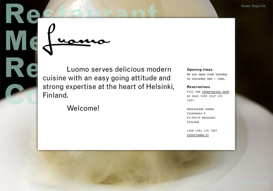 A great web design by Hoksa!, Helsinki, Finland:
