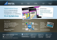A great web design by Digital Internet Group, Toronto, Canada: