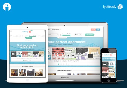 A great web design by Worry Free Labs: Responsive Website, Web Application , Real Estate , Ruby on Rails