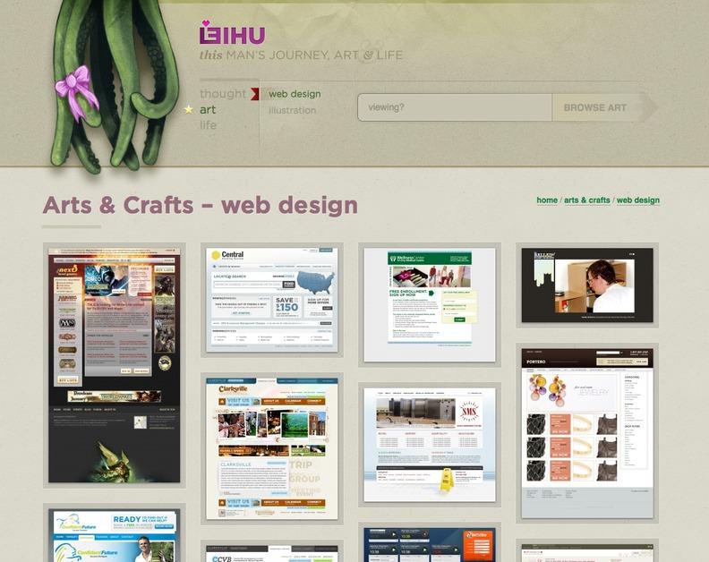A great web design by leihu, Nashville, TN: