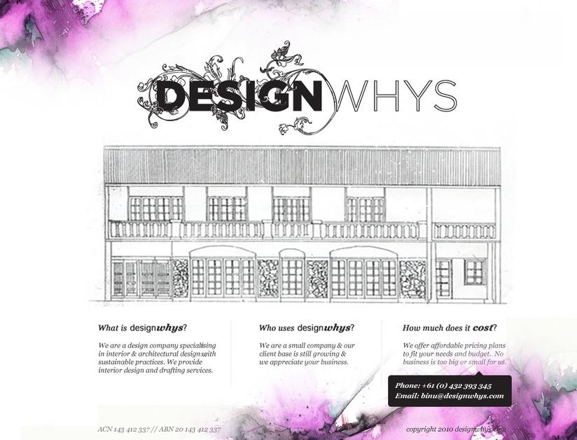A great web design by Binusha, Canberra, Australia: