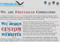 A great web design by Freetailed Consulting: