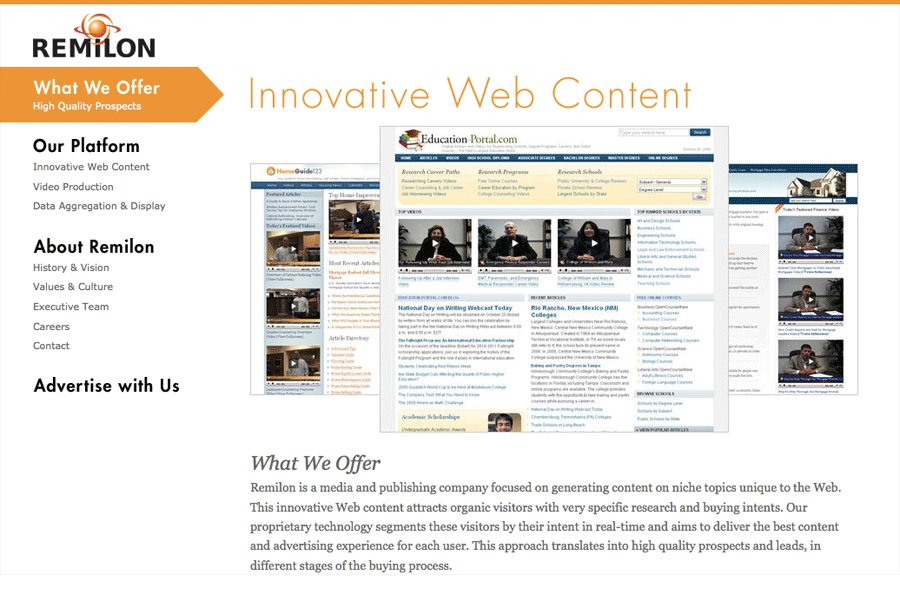 A great web design by Limedaring, San Francisco, CA:
