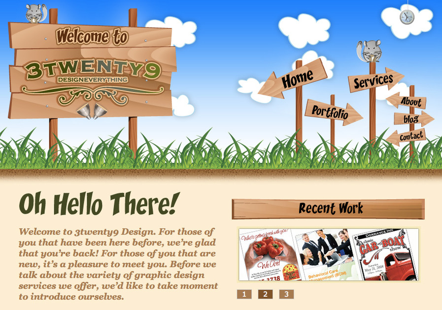 A great web design by 3twenty9, Philadelphia, PA: