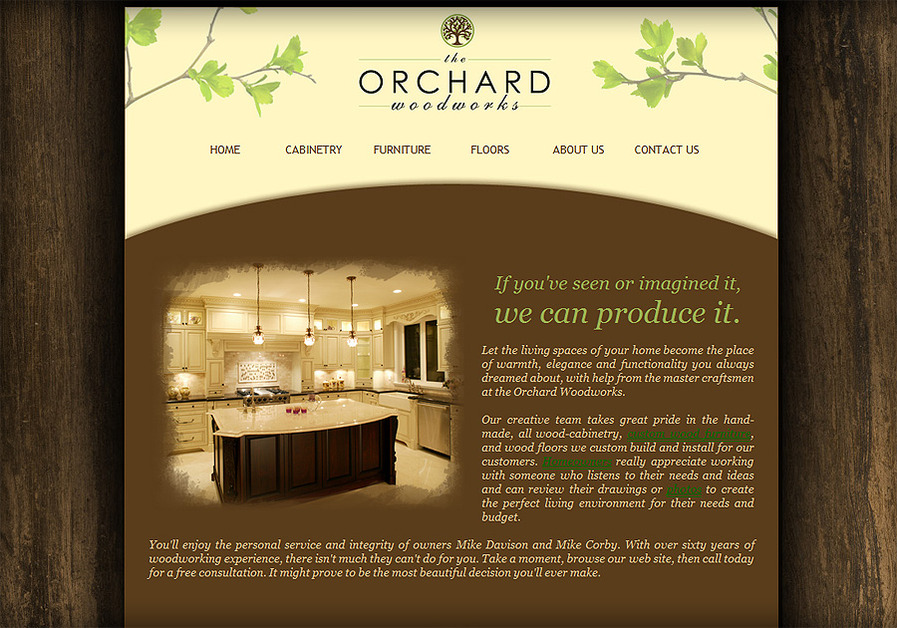 A great web design by Nerdy Birdy Design, Seattle, WA: