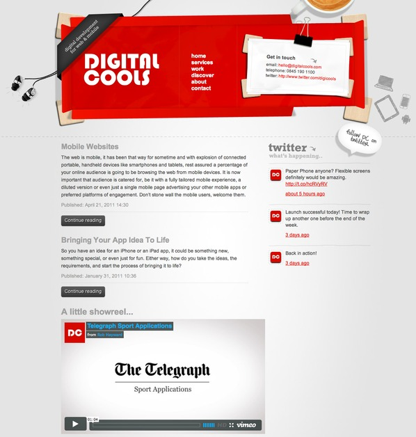 A great web design by Digital Cools, Manchester, United Kingdom: