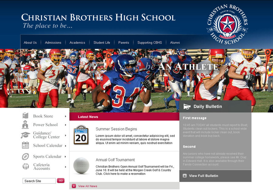 A great web design by A2B Concepts, Sacramento, CA: