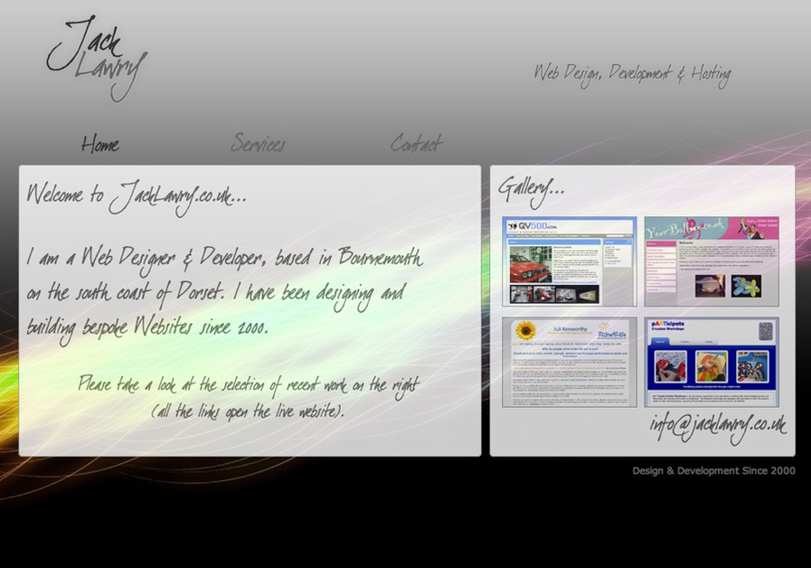 A great web design by Jack Lawry, London, United Kingdom: