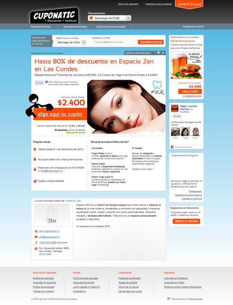 A great web design by Merino Ronda. Boutique web, Santiago de Chile, Chile: