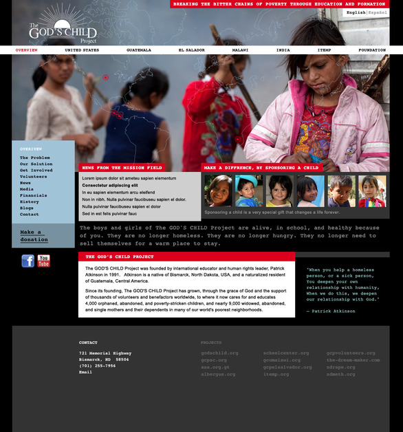 A great web design by Todaymade, Bismarck, ND: