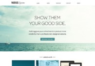 A great web design by Nudge Design, Montreal, Canada: Website, Portfolio , Technology , Wordpress