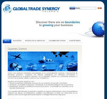 A great web design by ADMINNOVA S.A.S, Bogota, Colombia: