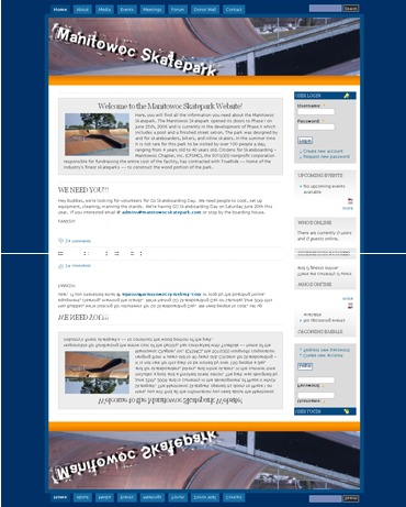A great web design by Chad Day Design and Development, Manitowoc, WI: