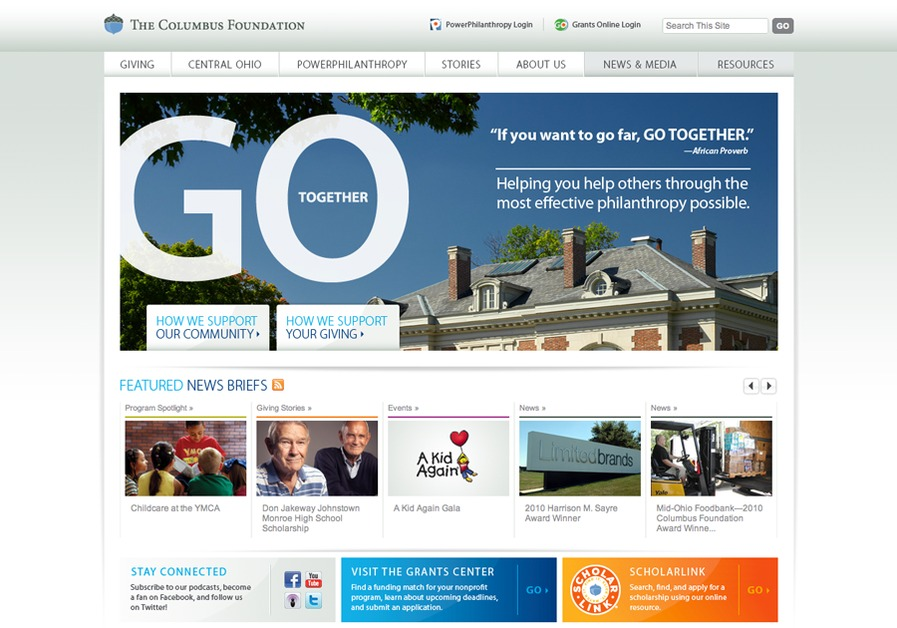 A great web design by Process Interactive, Columbus, OH: