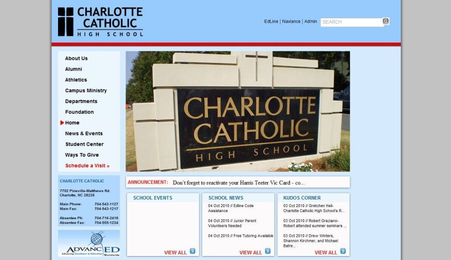 A great web design by Whiteboard Creations, Cary, NC: