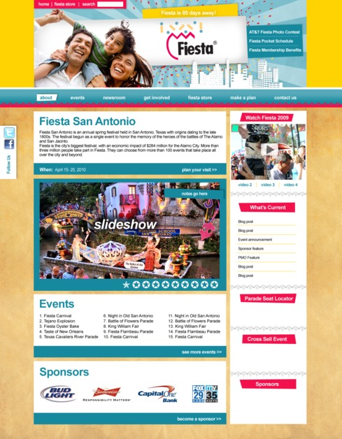 A great web design by Firecat Studio, San Antonio, TX: