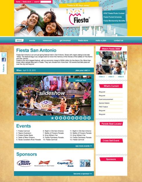 A great web design by Firecat Studio, San Antonio, TX: