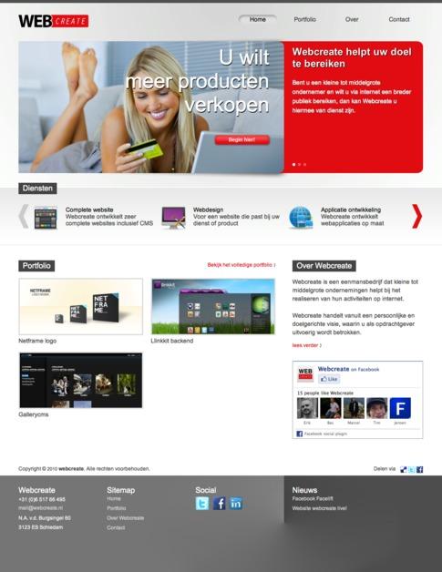 A great web design by Webcreate, Rotterdam, Netherlands: