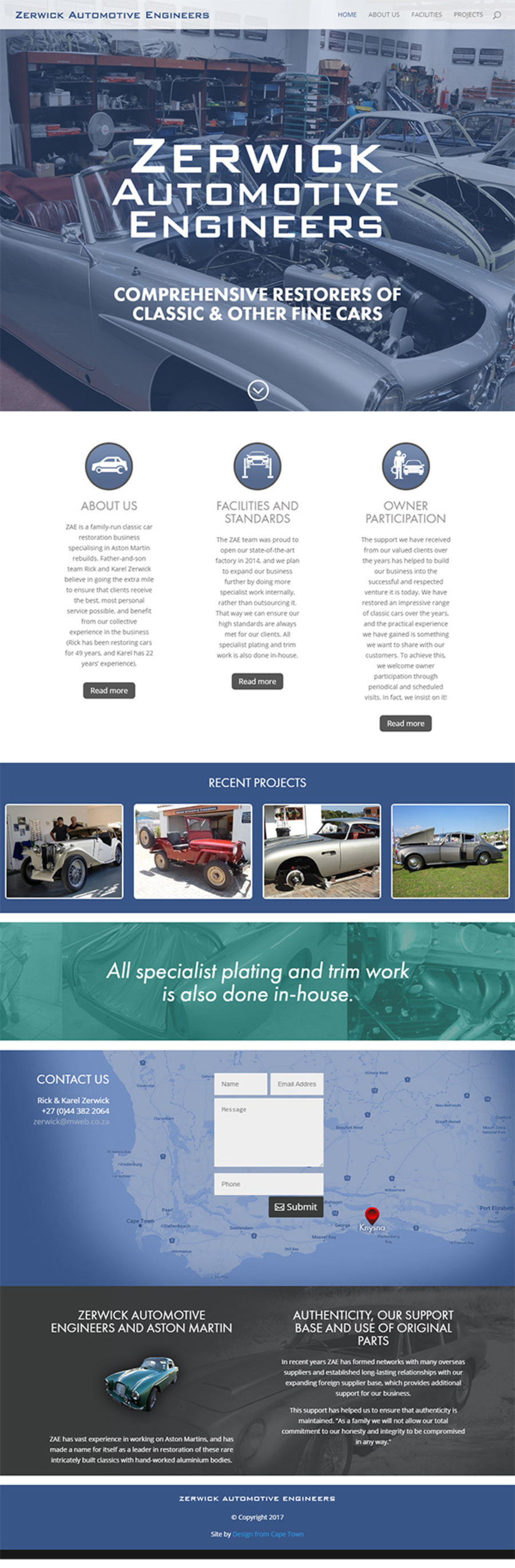 A great web design by Design from Cape Town, Cape Town, South Africa: Responsive Website, Marketing Website , Automotive , Wordpress