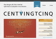 A great web design by Centvingtcinq, Tournai, Belgium: