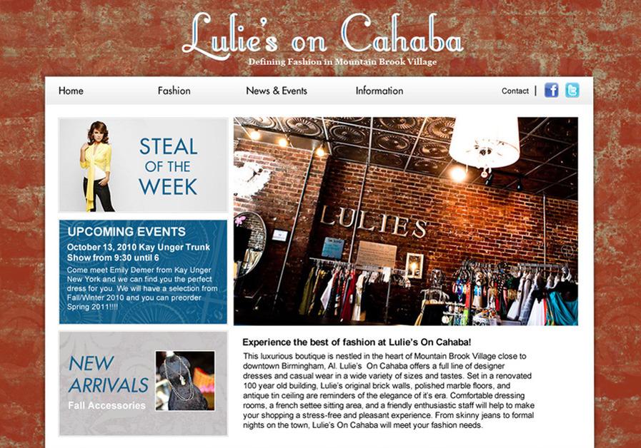 A great web design by Doug Van Wie, Birmingham, AL: