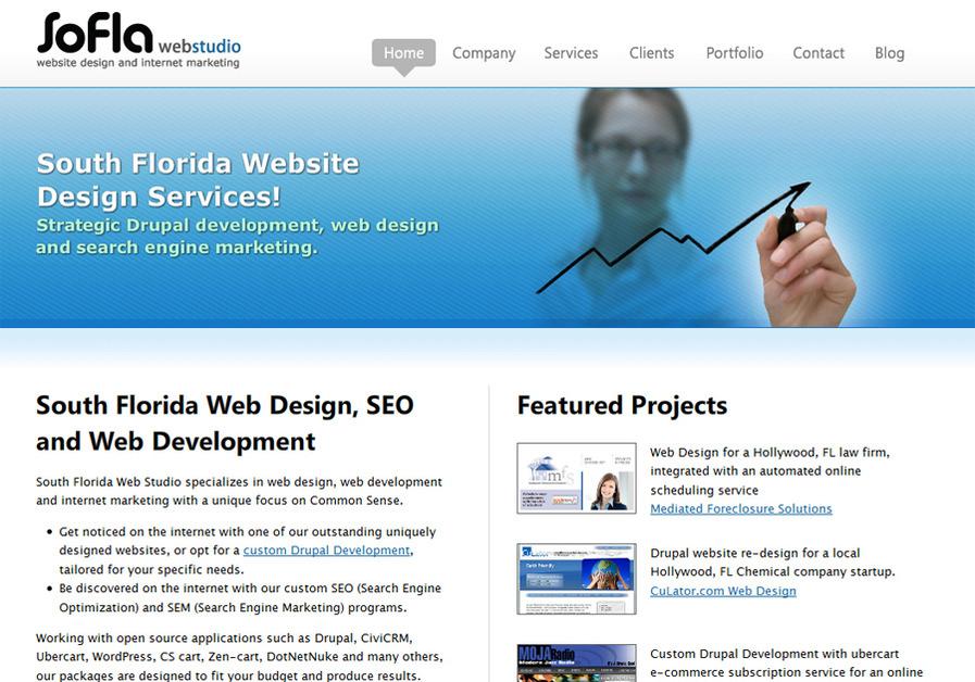 A great web design by South Florida Web Studio, Fort Lauderdale, FL: