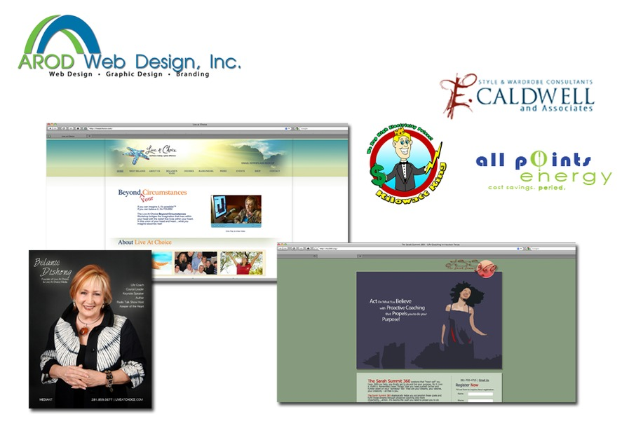 A great web design by AROD Web Design, Inc., Houston, TX:
