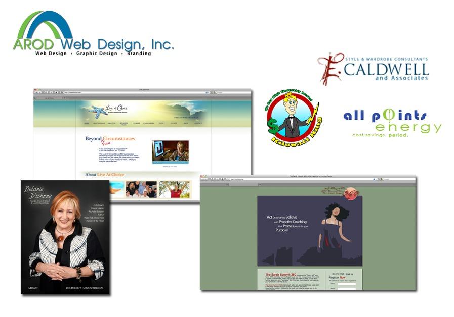 A great web design by AROD Web Design, Inc., Houston, TX: