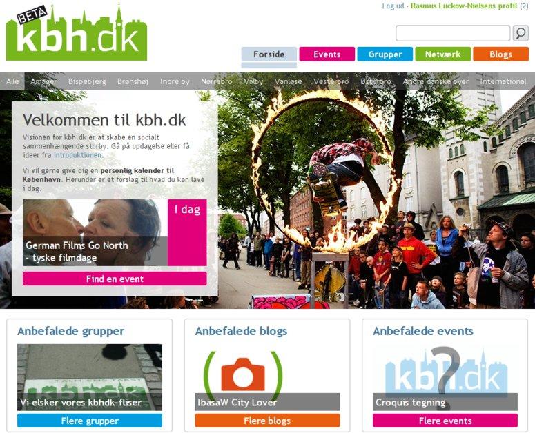 A great web design by Signal Digital, Copenhagen, Denmark: