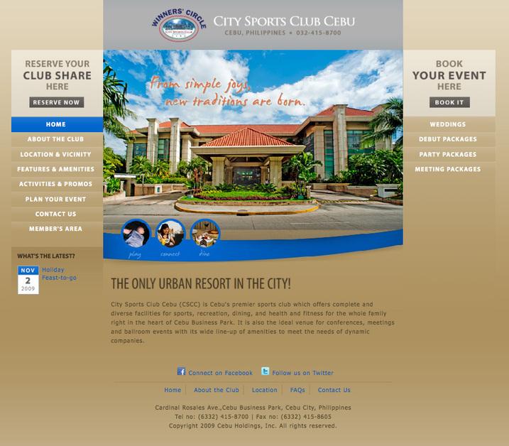 A great web design by Klik Design, Cebu, Philippines: