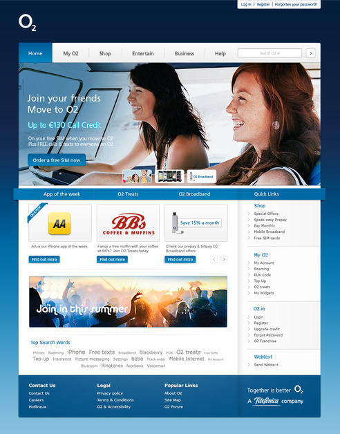 A great web design by ourvision, Dublin  Ireland, Ireland: