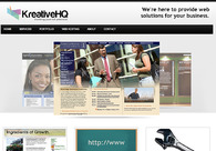 A great web design by KreativeHQ, Chicago, IL: