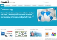 A great web design by Phase 3 Solution, Dhaka, Bangladesh: