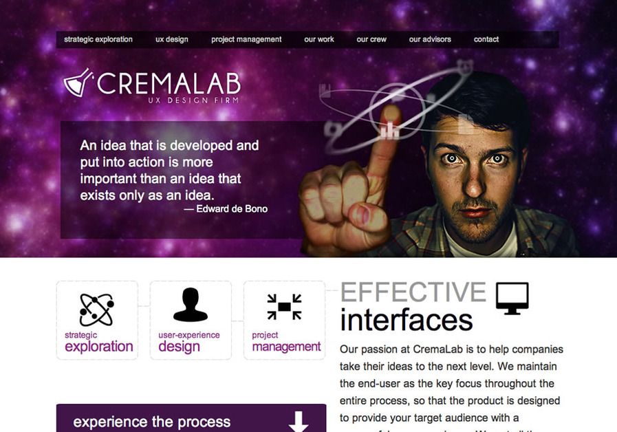 A great web design by CremaLab, LLC, Kansas City, MO: