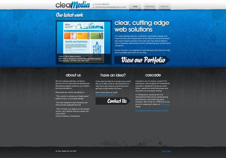 A great web design by Clear Media UK Ltd, London, United Kingdom: