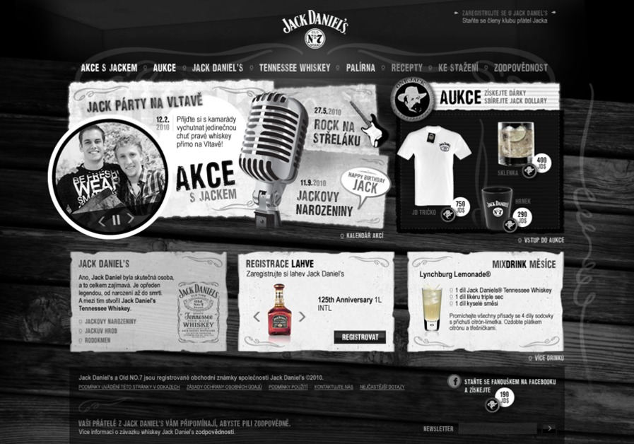 A great web design by Roman Lošťák, Prague, Czech Republic: