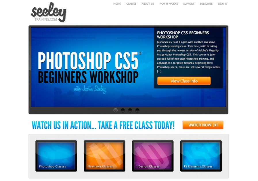 A great web design by Seeley Media, Chicago, IL: