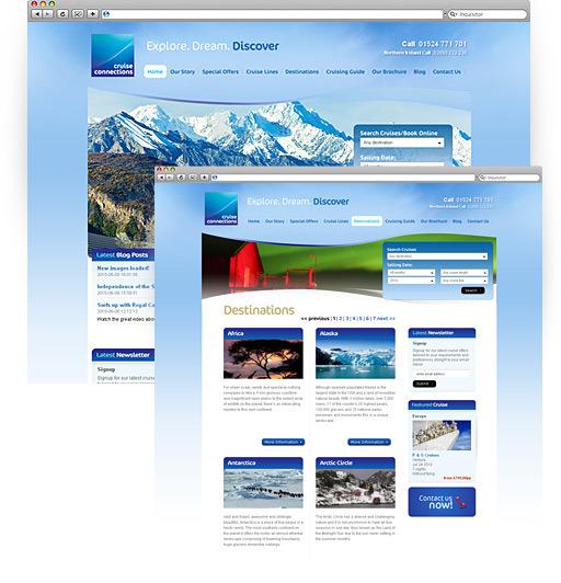A great web design by NuBlue, Lancaster, United Kingdom: