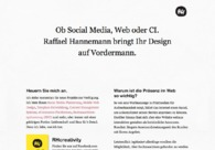A great web design by raffael.me, Alzey, Germany:
