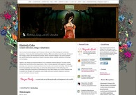 A great web design by Kimberly Coles, Indianapolis, IN: