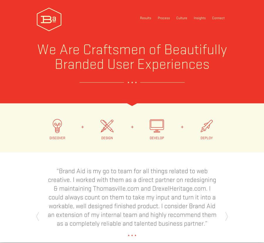 A great web design by Brand Aid Design Co., Nashville, TN: