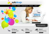 A great web design by Wols Design, Sao Paulo and Buenos Aires, Brazil: