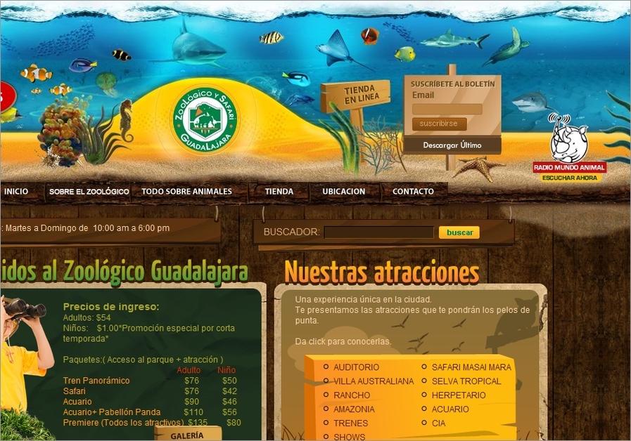 A great web design by Sustam.com, Mexico, Mexico: