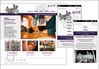 A great web design by Out West Branding, Long Beach, CA: Responsive Website, Marketing Website , Restaurants & Bars, Wordpress