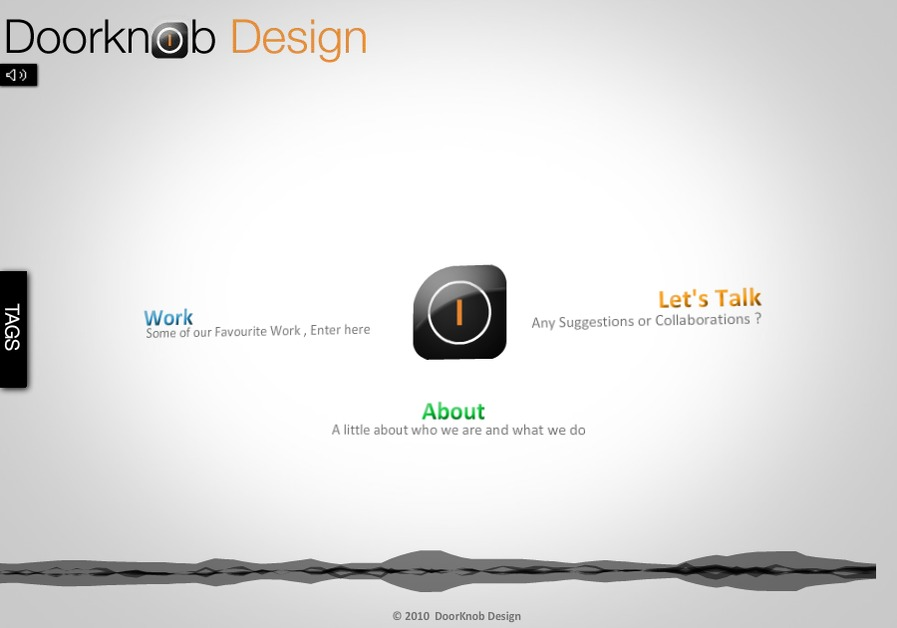 A great web design by Doorknob Design, Mumbai, India: