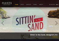 A great web design by Oakes Design, Guelph, Canada: Website, Portfolio , Technology , Wordpress