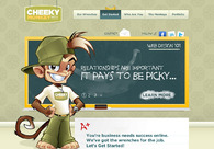 A great web design by Cheeky Monkey Media, Kelowna, Canada: Website, Drupal